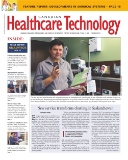 Canadian Healthcare Technology Magazine