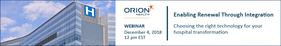 Orion Integration webinar