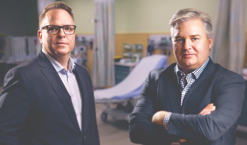 Dr McGillion and Dr Devereaux